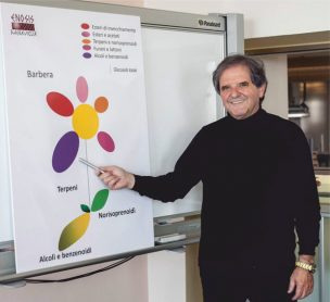 The outstanding oenologist Donato Lanati creates in his innovative research center Enosis