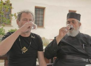Father Epiphanios of Mylopotamos and Oleg Cherne