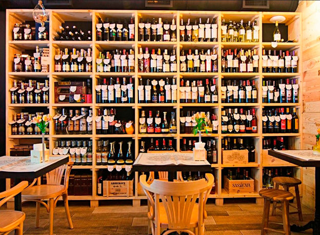 Wine Republic Restaurant. Location: Yerevan, Armenia