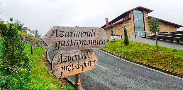 Azurmendi Restaurant. Location: Larrabetzu, Basque Country, Spain