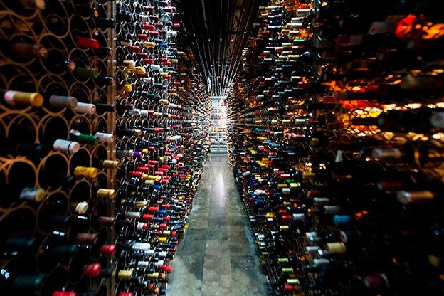Monvinic Restaurant. Place: Barcelona, Spain. Code de Vino - rating 4,5 stars