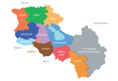 Wine regions of Armenia