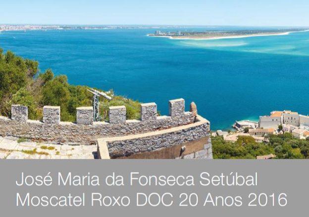 José Maria da Fonseca Setúbal Moscatel Roxo DOC 20 Anos
