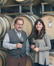 Michel Rolland and Juliana del Aguila