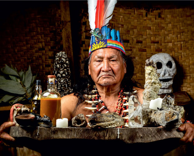 Native American Spiritual Drinks