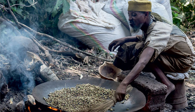 Ethiopian Coffee's Global Travels