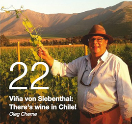 Viña von Siebenthal: There's wine in Chile! Oleg Cherne