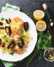 An Italian Romance: Wine and Pasta